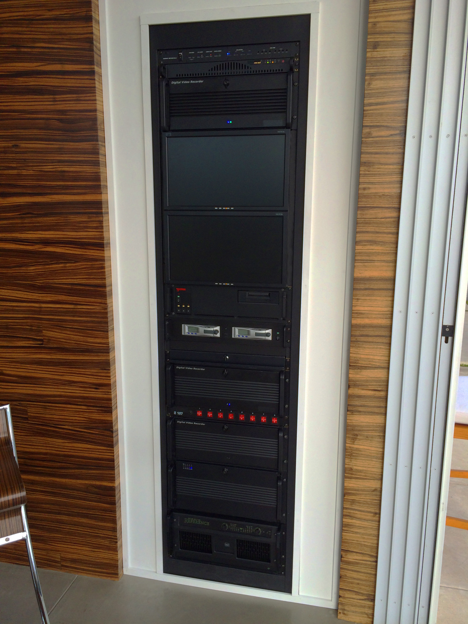 Audio/Video Racks with Gack