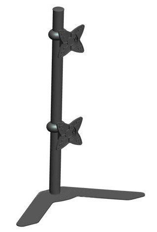 Dual LCD Vertical Desk Mount
