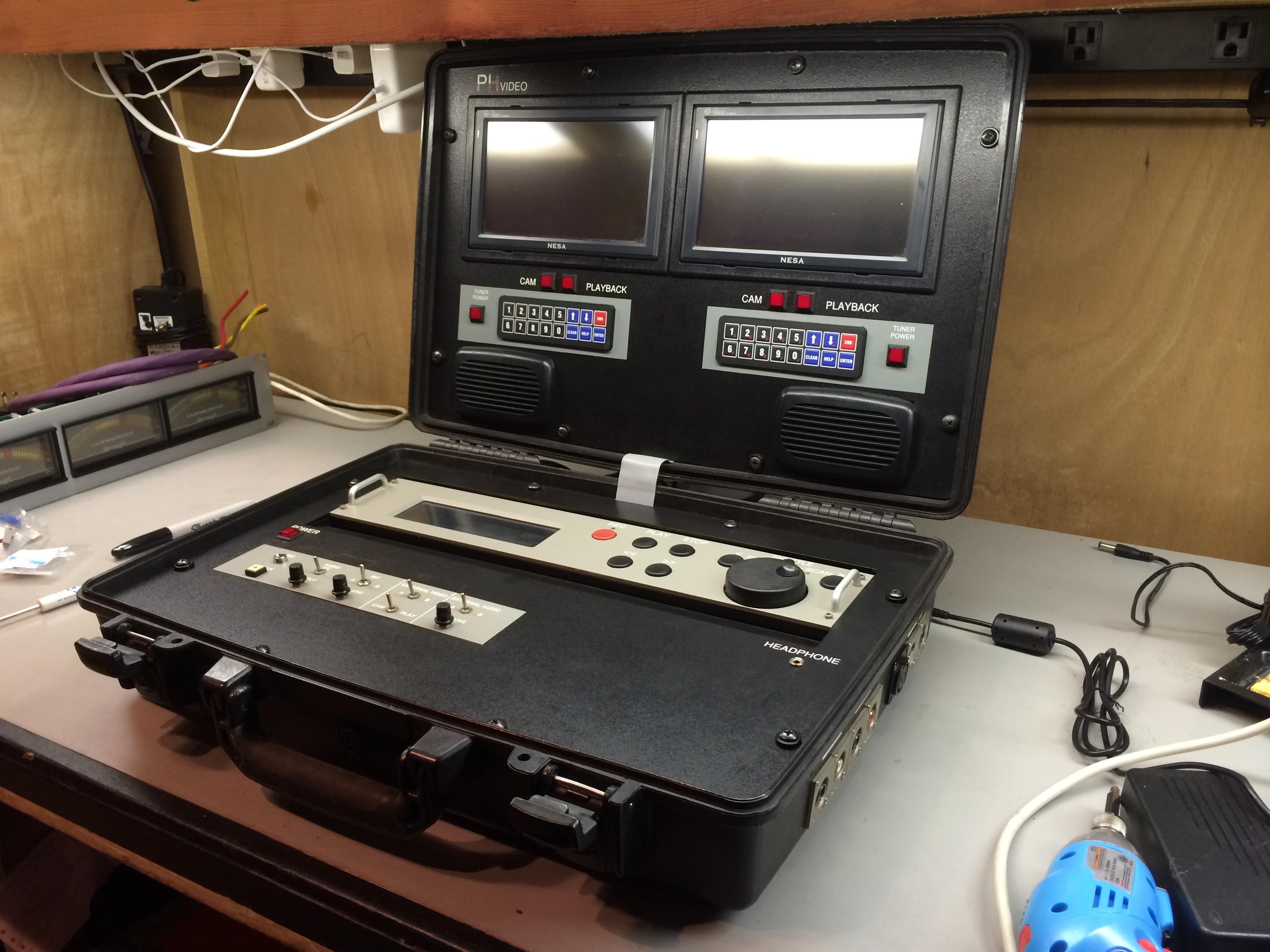 Dual Omega DVR Briefcase