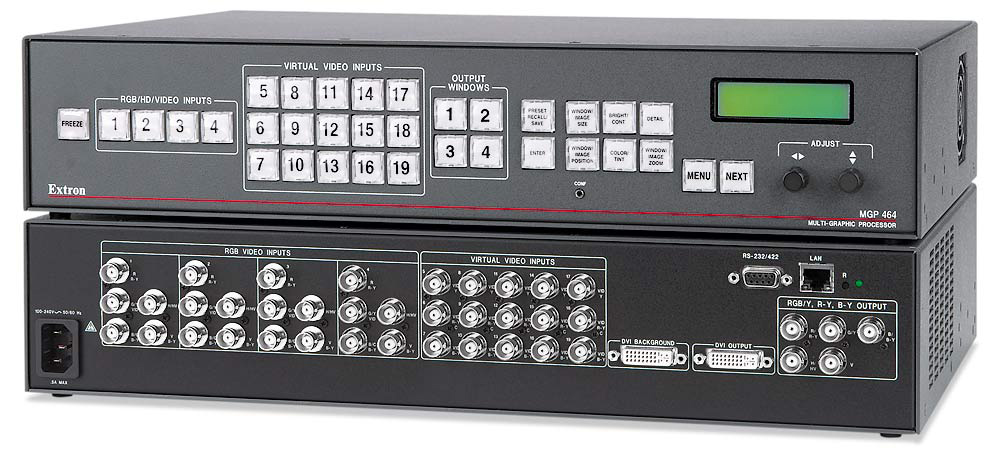 Extron MGP464 Multi-Window Processor (Quad+)