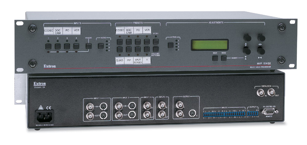Extron MVP104 Multi-Window Processor (Quad+)