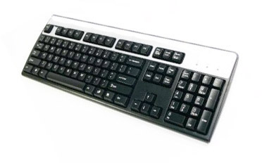 HP Silver/Grey Keyboard