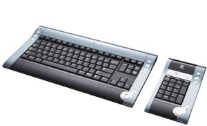 Logitech diNovo Silver Keyboard