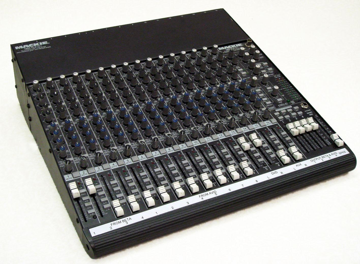 Mackie VLZ1604 Audio Mixer