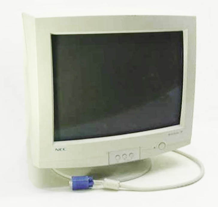 crt computer monitor archives digital image associates. Black Bedroom Furniture Sets. Home Design Ideas