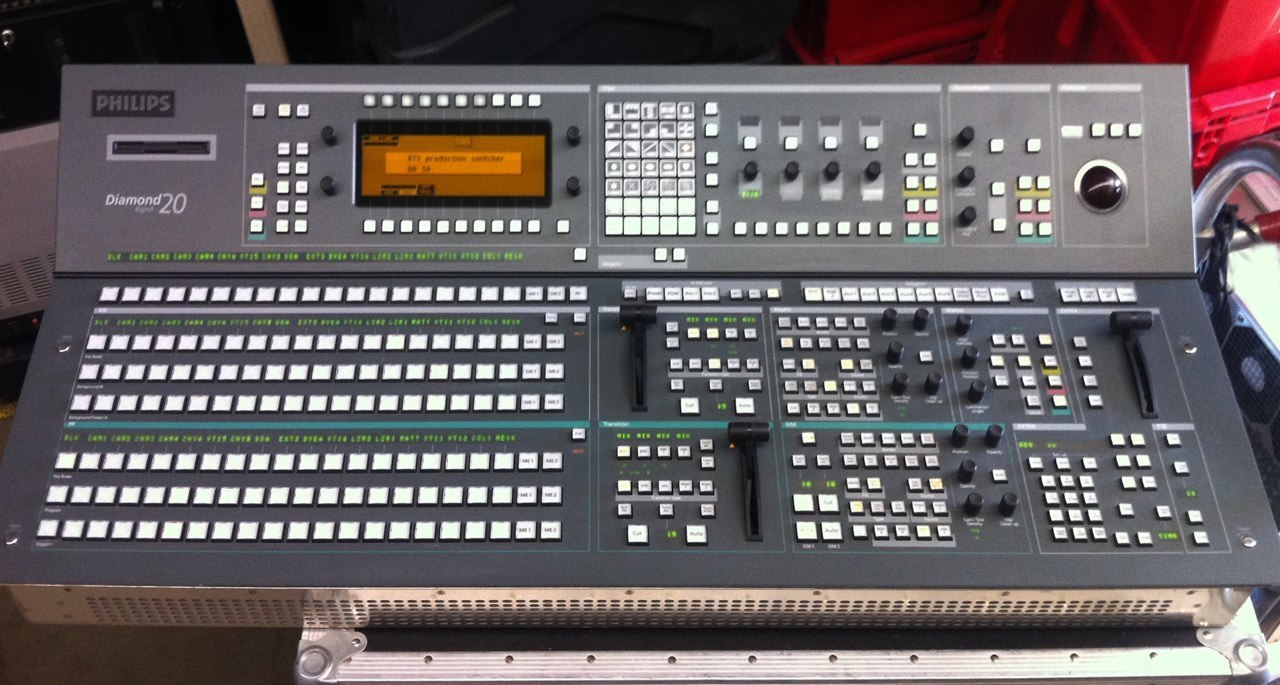 BTS/Philips/GVG DD20 Diamond Digital Production Switcher