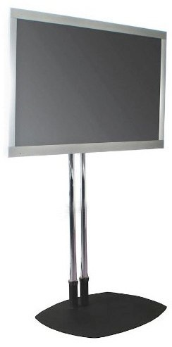 Rolling LCD/Plasma Stand