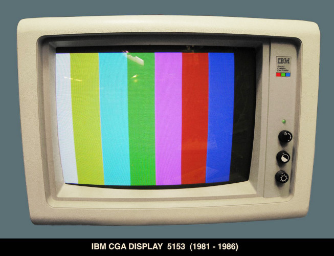 IBM Color Display Model 5153, 13